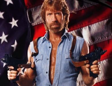 El polifacético y expresivo Chuck Norris