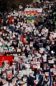 Britain Peace March