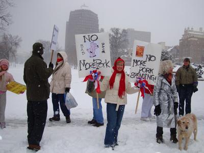 stimulus-protest
