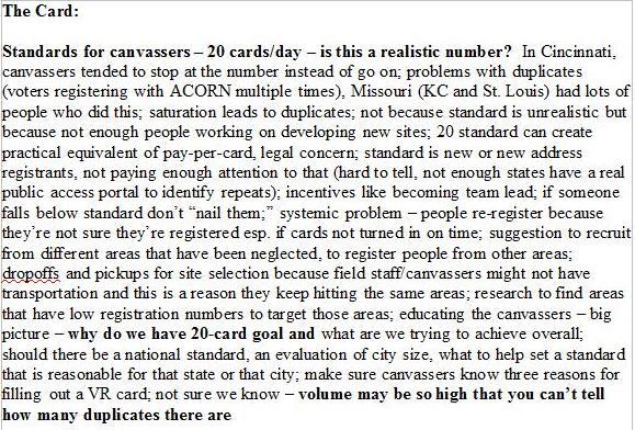 acorn standards