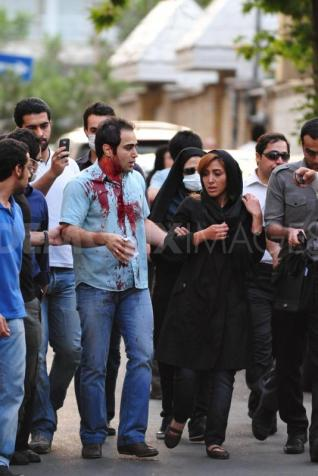 iran protesters