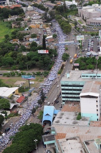 PRO GOVERNMENT MARCH