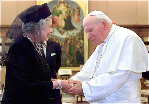 queen elizabeth pope jp
