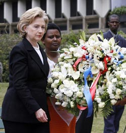 hillary-in-africa-flowers