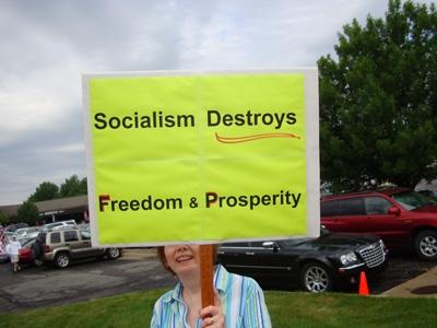 socialism destroys