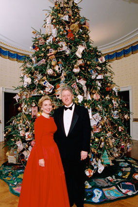 White House Christmas Trees Through The Years Nice Deb