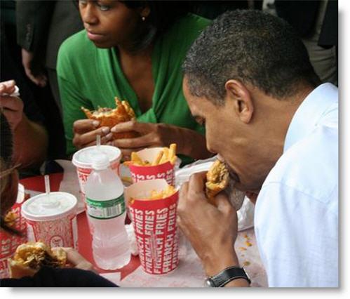 lol obama eating