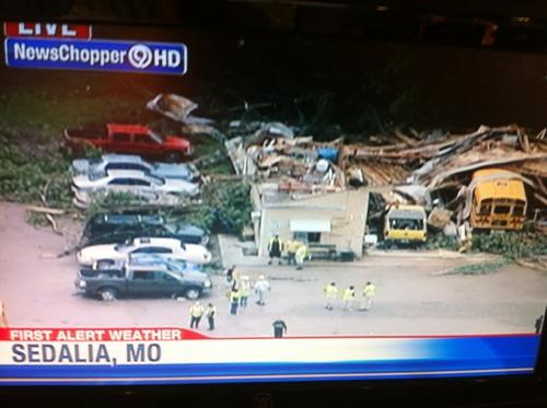 Tornado Hits Sedalia MO Heavy Damage In Parts Of The City No - Car show sedalia mo