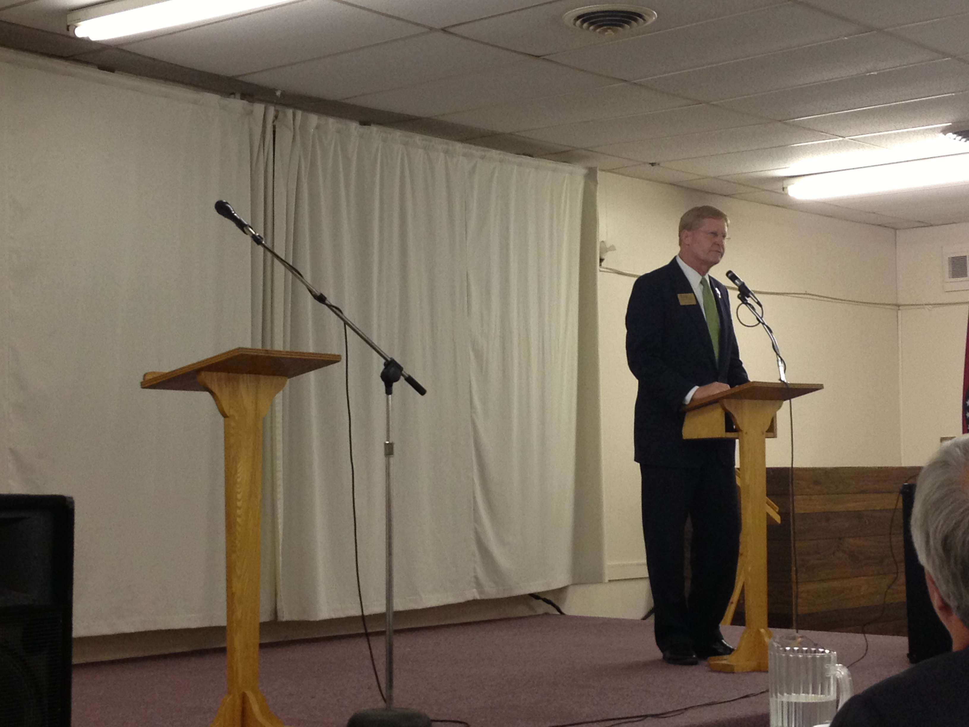 Once Again, Jacob Turk Forced to Debate An Empty Podium at ...