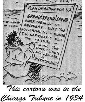 Comic of the Communists Plan 1934