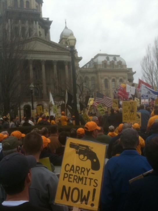 gun rally IL
