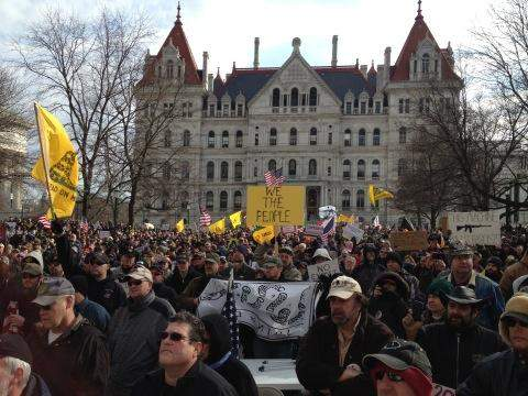 gun rights rally albany