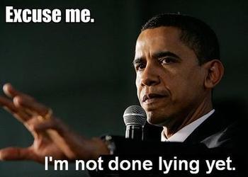 lying obama