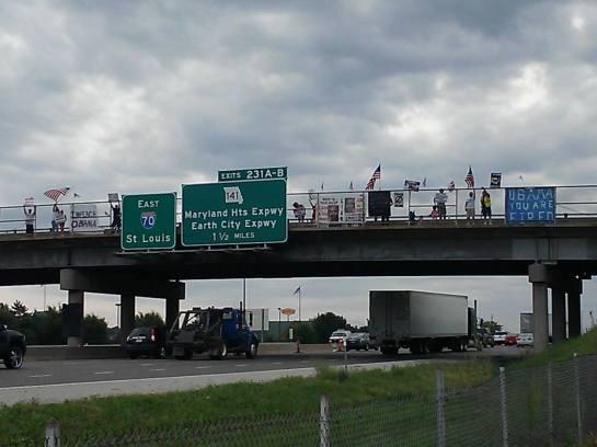 overpasses Bridgeton