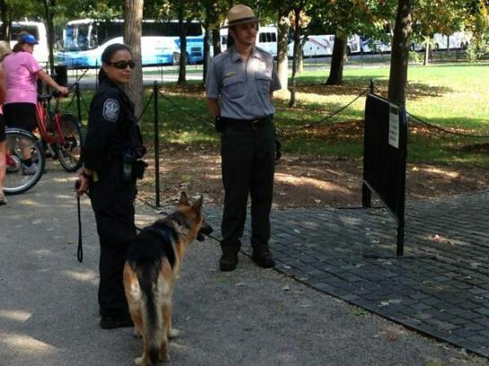 guard dogs vietnam memorial
