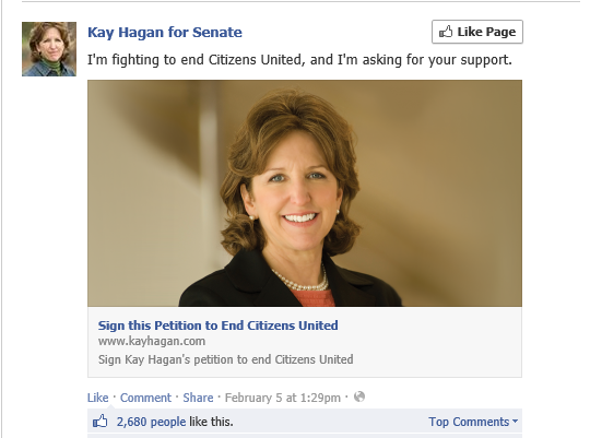 kay hagen citizens united
