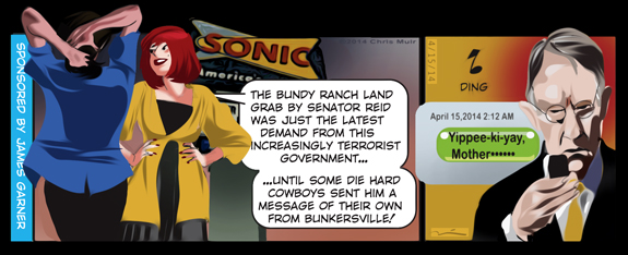 bundy cartoon
