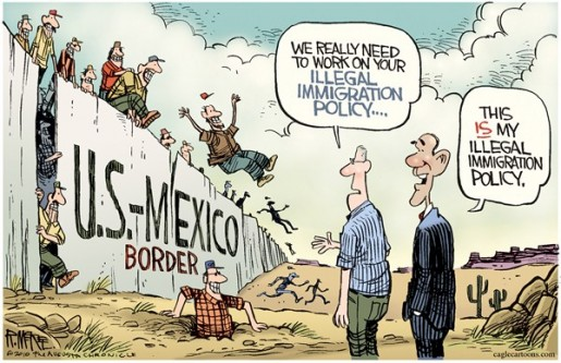 Illegal-Immigration-by-Rick-McKee-The-Augusta-Chronicle-Obama-515x333