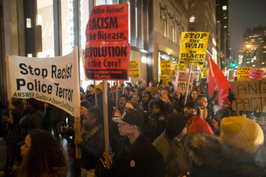 Despite Calls For Restraimt, Protests Continue In NYC