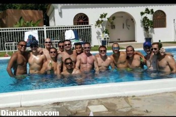 gay pool party