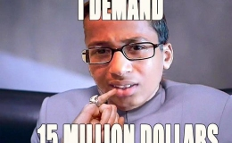 Clock Boy's Family Sues Irving City and School for $15Million